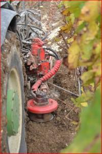 Prestation de service travail du sol dans la vigne en Champagne, SARL Meulot, 51