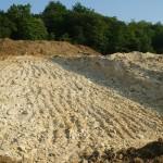 Aménagement du terrain à vigne avant plantation, Sarl Meulot, Vertus, Epernay, Marne, 51
