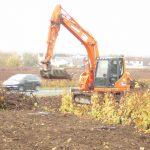 Arrachage de vigne à Vertus dans la Marne, 51, SARL Meulot