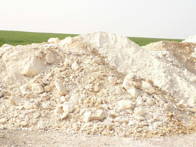 L'apport de craie ou de terre